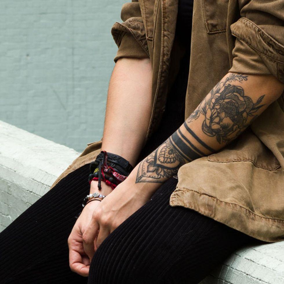 Bedeutung 3 punkte tattoo Drei Punkte