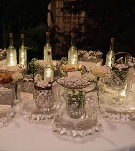 Confettata matrimonio: idee per realizzare il tavolo dei confetti