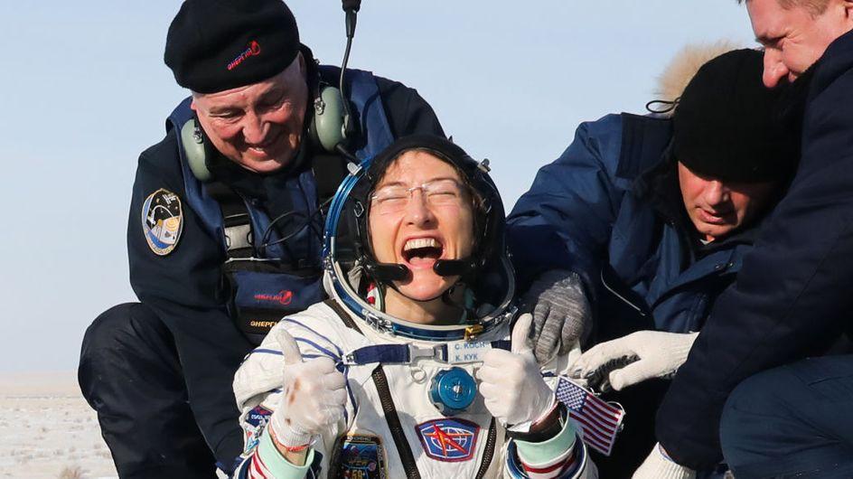 L'astronaute Christina Koch bat le record du plus long séjour féminin dans l'espace