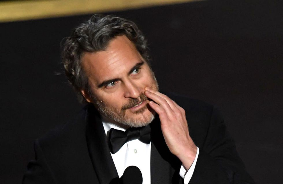 Aux Oscars, Joaquin Phoenix dénonce la maltraitance animale