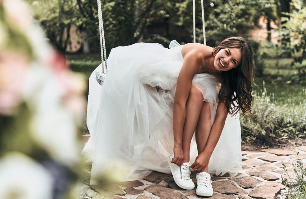 15 modèles pour oser se marier en baskets