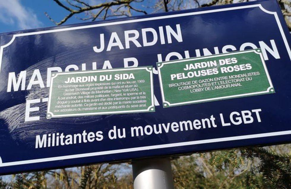À Metz, un jardin hommage à des militantes LGBT vandalisé avant même d'être inauguré