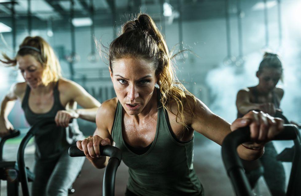 ¡Sigue pedaleando! 6 increíbles beneficios del spinning