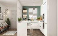 Une petite cuisine design et fonctionnelle : c'est possible !