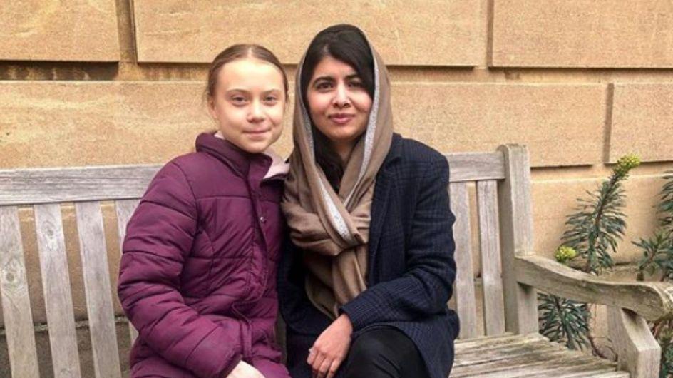 L'incontro tra Greta e Malala: le attiviste che cambieranno il mondo
