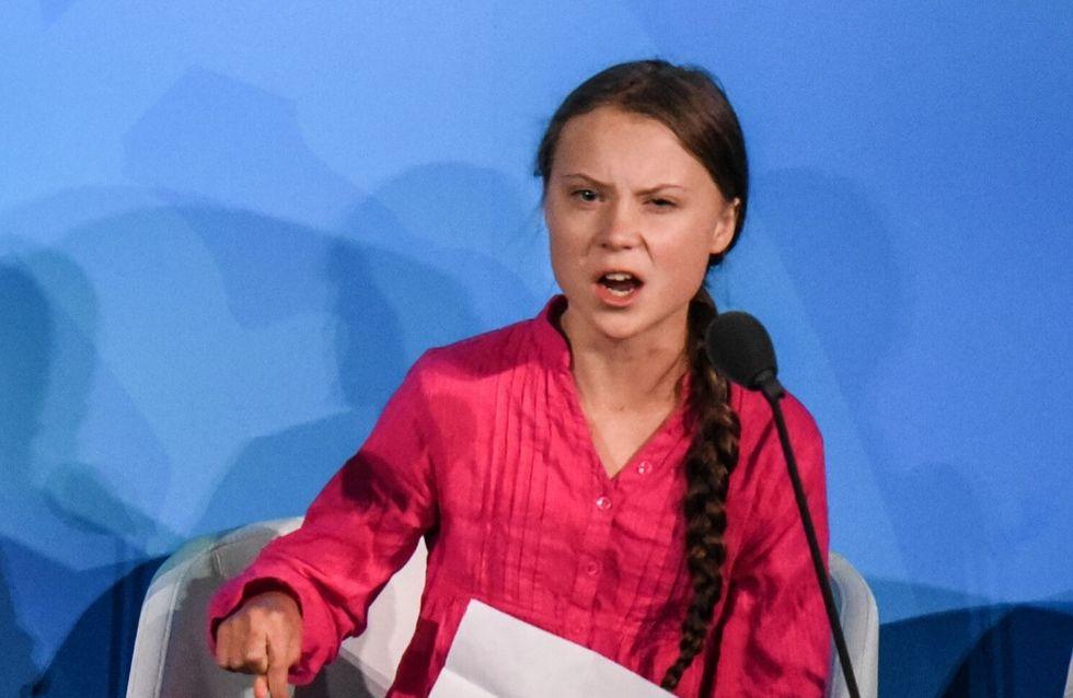 Greta Thunberg violentata da una compagnia petrolifera