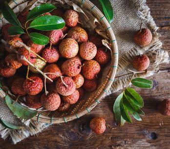 El lichi, una fruta exótica y muy beneficiosa para la salud