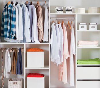 10 ideas para organizar armarios vistas en Pinterest y 10 accesorios para conseg