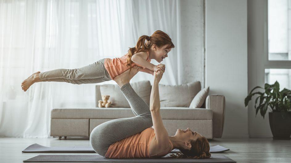 6 idées d'exercices physiques pour que les enfants se défoulent (sans retourner le salon)