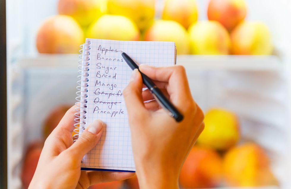 Comment faire une liste de courses efficace pour une semaine entière ?