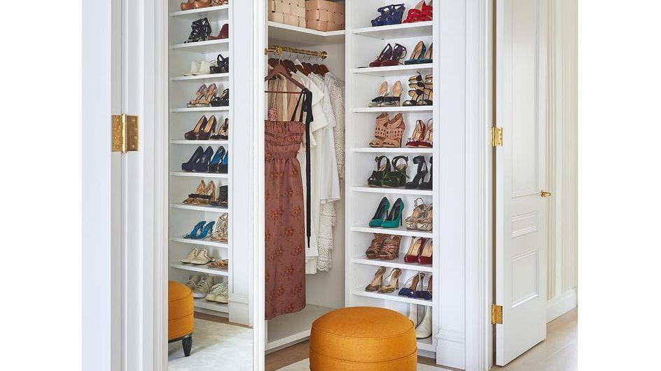 Ideas para organizar tus zapatos y tenerlos más ordenados que Carrie Bradshaw