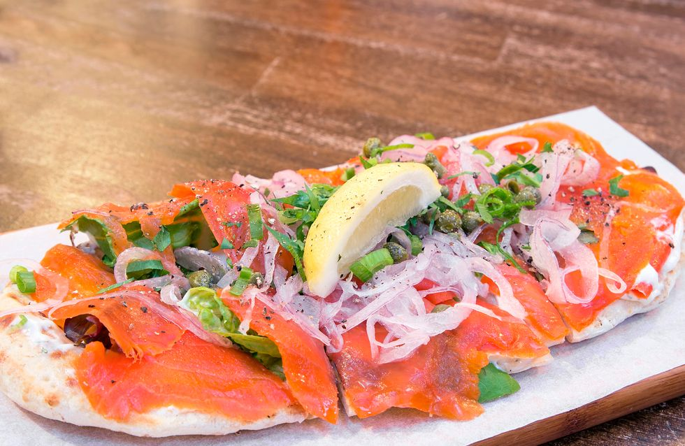 Focaccia de salmón ahumado, una receta deliciosa y saludable