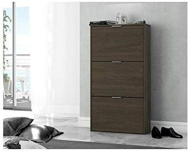 Habitdesign - Zapatero de 3 puertas 113x60x60cm