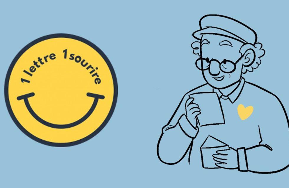 1 lettre 1 sourire, la belle initiative pour réconforter les résidents des Ehpad