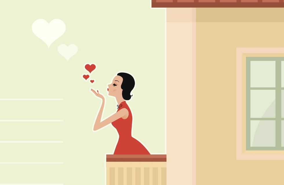 Si innamora della dirimpettaia: storia di un amore nato in quarantena
