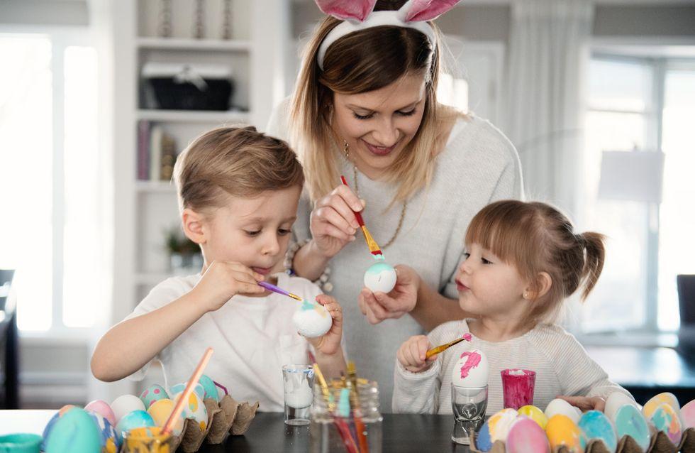 Décorer des oeufs de Pâques avec les enfants (pendant le confinement)