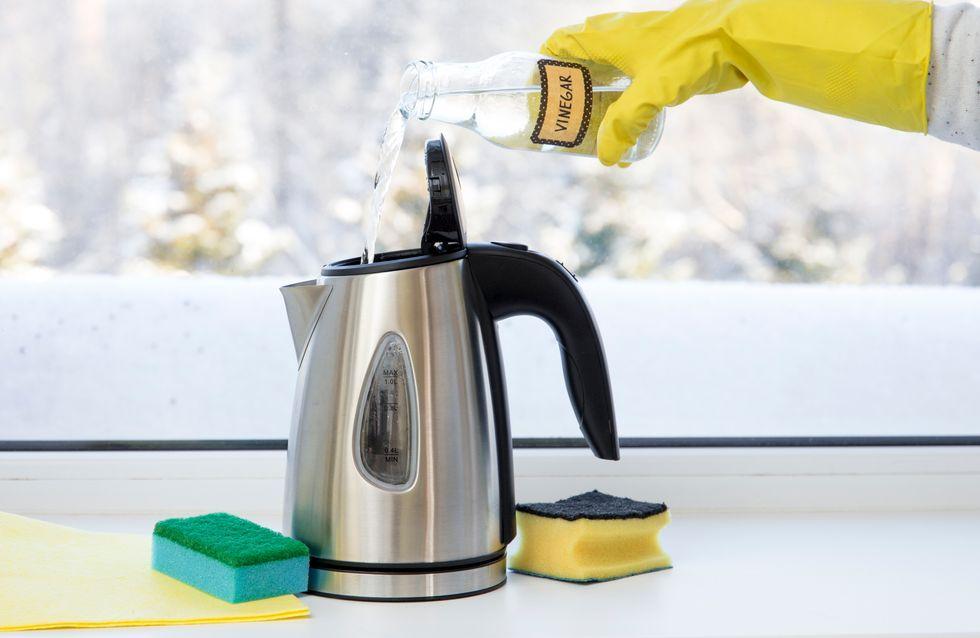 Wasserkocher entkalken: Die besten Tipps und Hausmittel