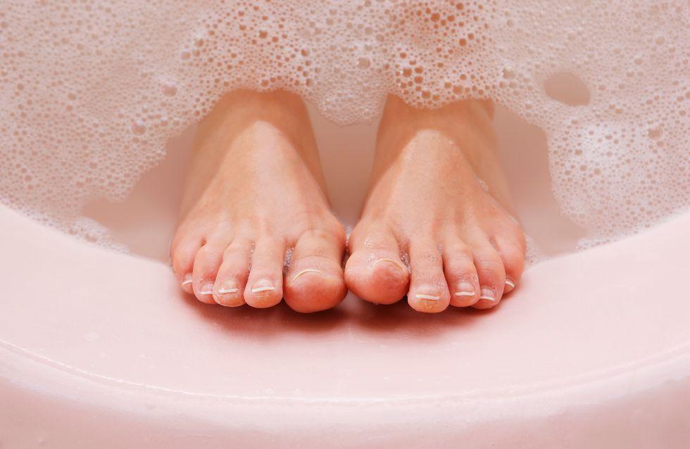 Les recettes pour réaliser un bain de pieds maison