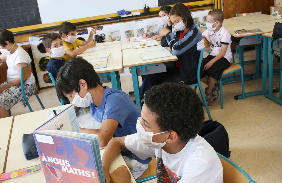 L'Académie de médecine recommande le port du masque à l'école, dès le CP