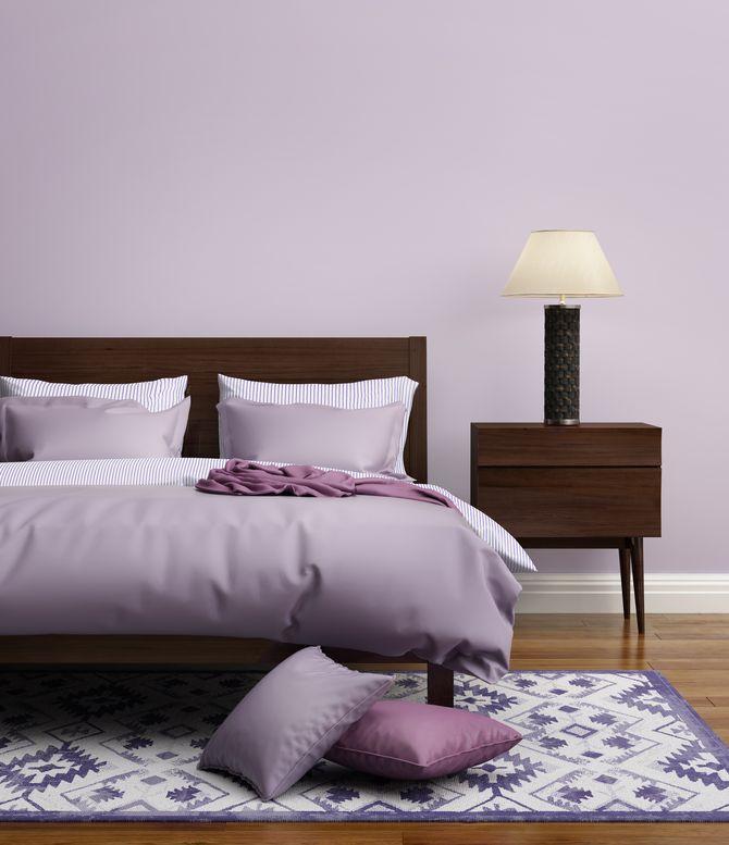 Une chambre violette