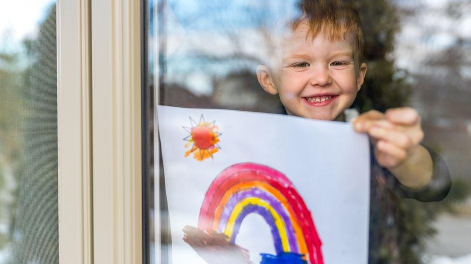 Regenbogen basteln: Das Trend-DIY zum Nachmachen