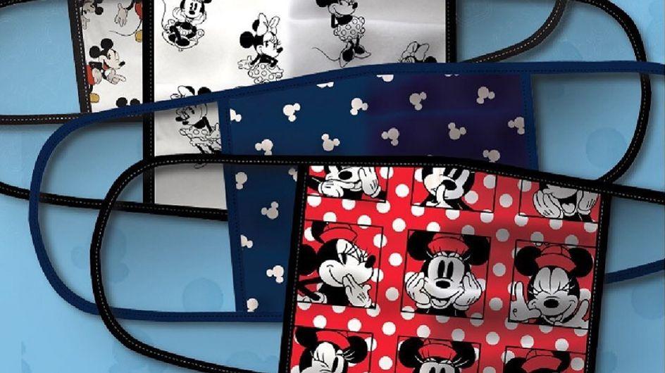Disney lance des masques en tissu pour la bonne cause !