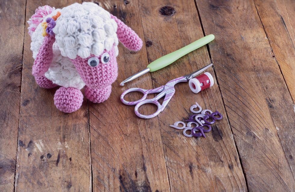 Kit crochet Amigurumi Hoooked - Joe l'âne - 4 pcs - Kit crochet ... | 638x980