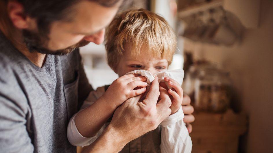 Sangue dal naso nei bambini: le cause dell'epistassi e cosa fare in caso di sanguinamento