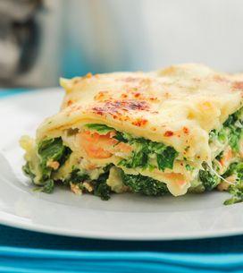Spinat-Lachs-Lasagne: Blitz-Rezept in unter 30 Minuten
