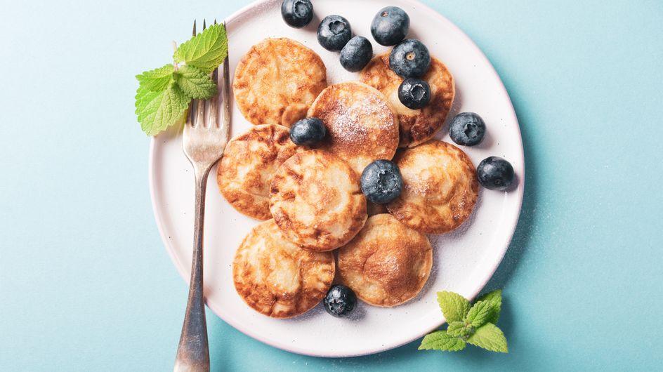 Pancake Cereal: So macht ihr Müsli aus Mini-Pfannkuchen