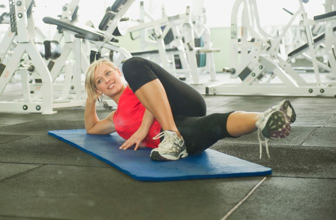 Exercice pour renforcer jambes et taille