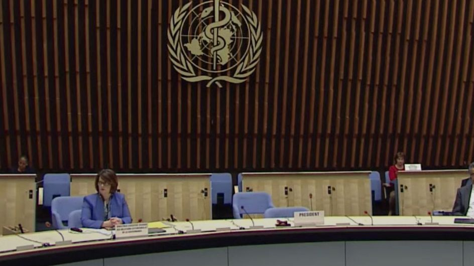 Les 194 pays membres de l'OMS débattent sur la réponse internationale à la pandémie