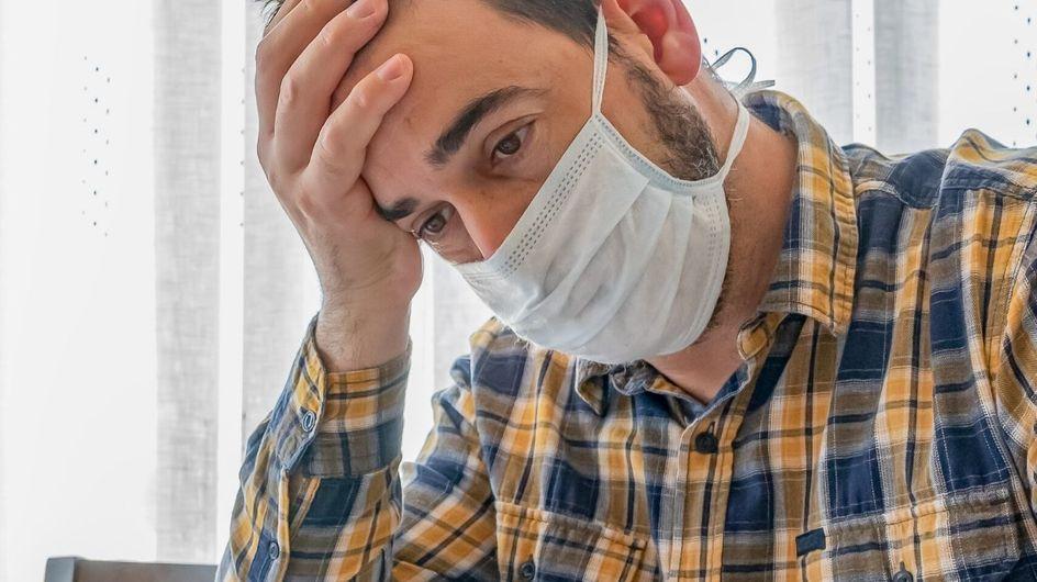 Gli uomini sarebbero restii alla mascherina: è un segno di debolezza