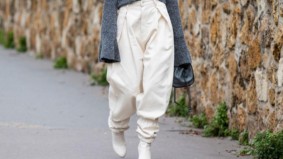 Barrel Leg Pants: Diese extrem bequemen Hosen sind jetzt Trend