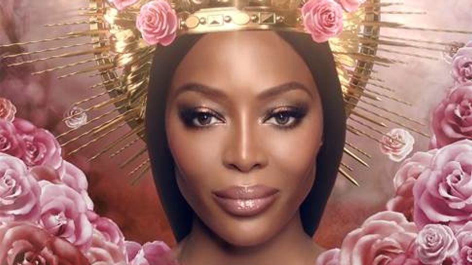 Naomi Campbell devient le premier visage officiel de Pat McGrath