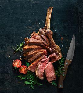 Comment cuire une côte de boeuf au barbecue ?