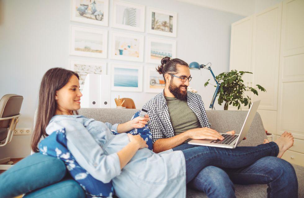Je suis enceinte, mon partenaire peut-il continuer à télétravailler ou est-il obligé de retourner sur son lieu de travail ?