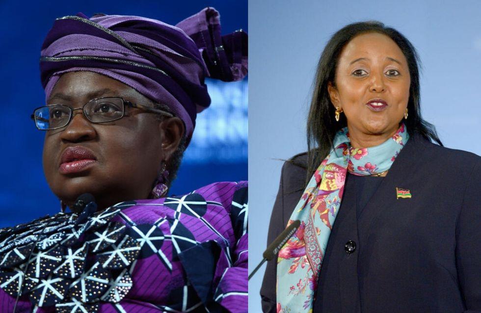Ngozi Okonjo Iweala et Amina Mohamed, deux candidates africaines briguent la direction de l'OMC
