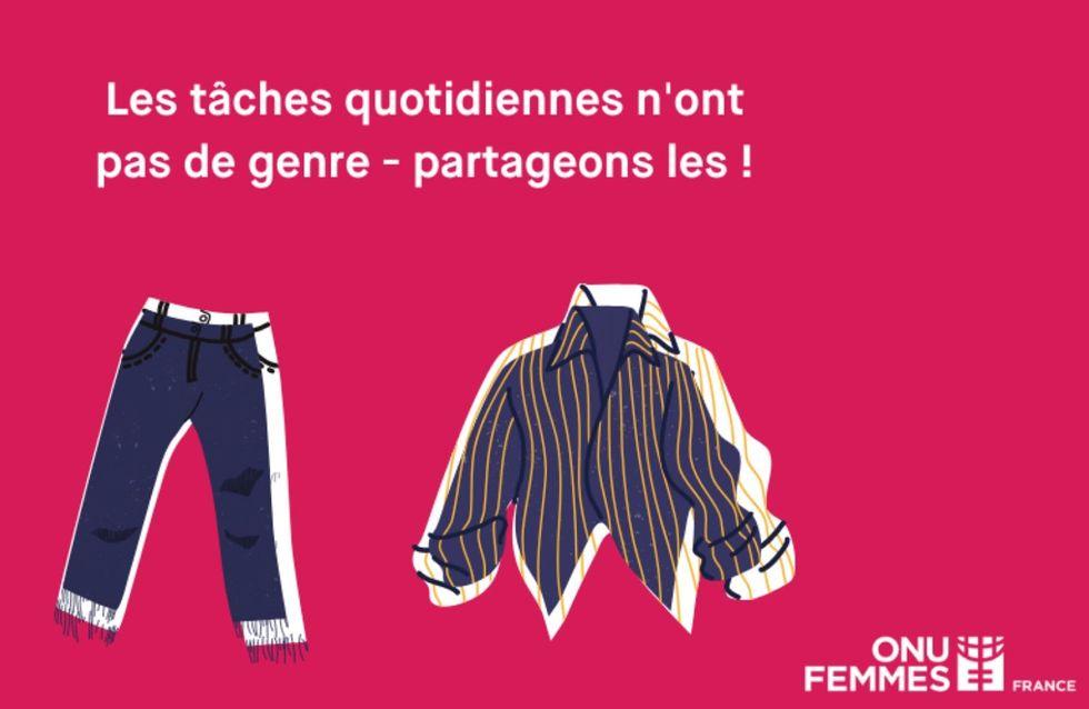 """""""Les tâches ménagères n'ont pas de genre"""", Isabelle Magyar, conseillère auprès d'ONU Femmes"""