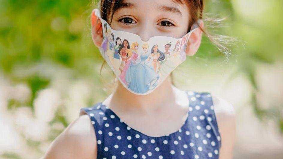 Queste mascherine delle principesse Disney vi faranno impazzire
