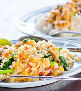 Asia-Reispfanne: Gesundes Blitz-Rezept in 15 Minuten