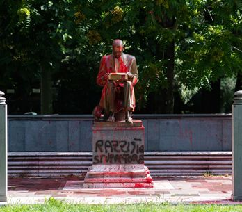 Ecco perché la statua di Indro Montanelli è stata imbrattata