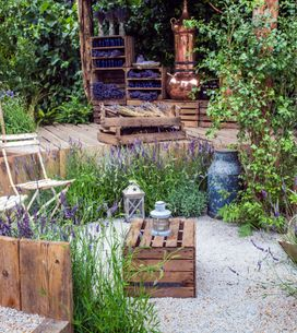 12 idées de bordures de jardin originales et récup'