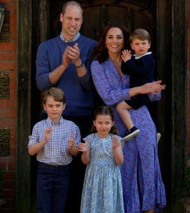 Kate Middleton dévoile deux adorables photos du prince William avec leurs enfant