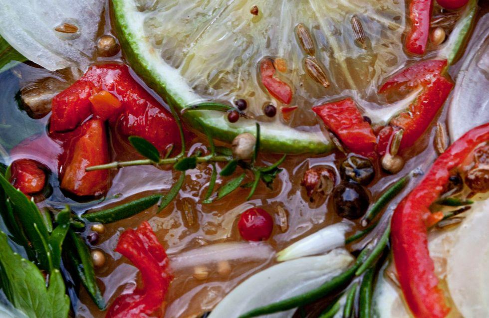 Leçon de marinade, pour des préparations vraiment savoureuses