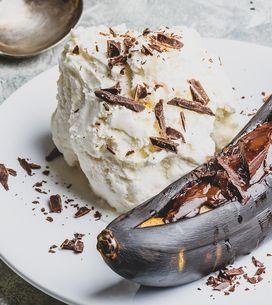 Schoko-Bananen mit Blitz-Eis: Weltbestes Grill-Dessert