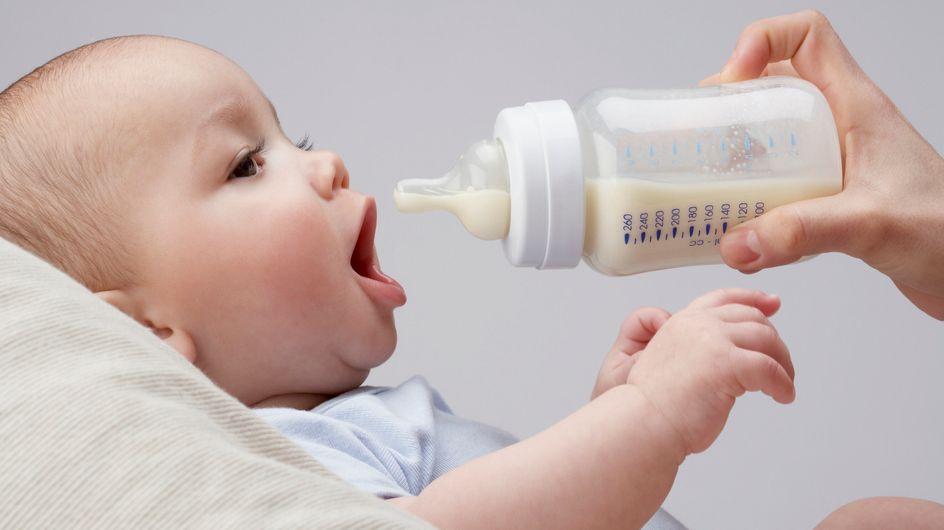 Quelle quantité de lait pour le biberon de bébé ?