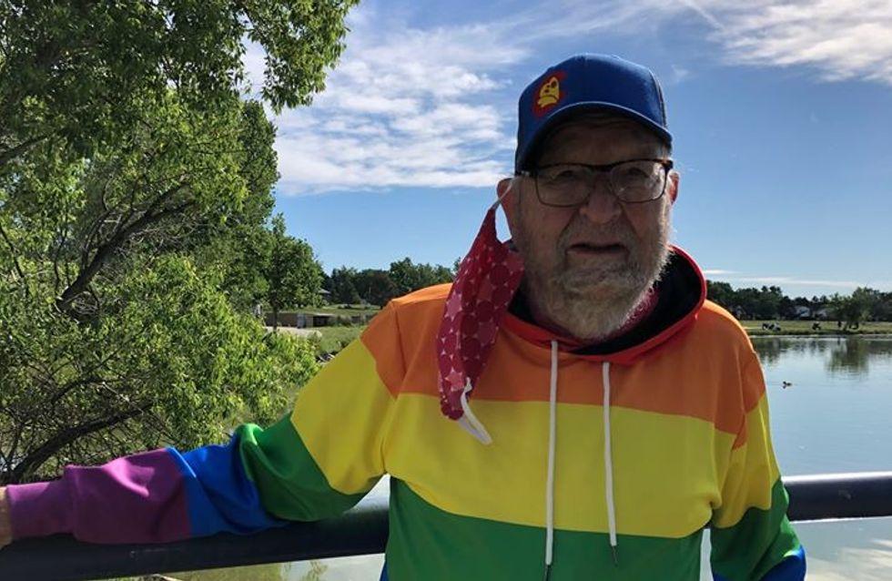 A 90 ans, il révèle son homosexualité après être resté dans le secret toute sa vie