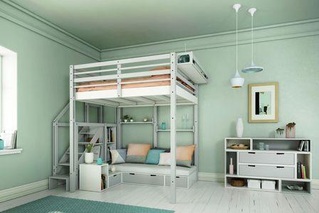 Salon chambre studio