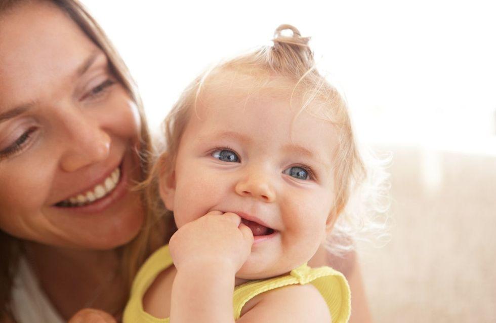 7 Anzeichen, dass dein Baby gerade glücklich ist